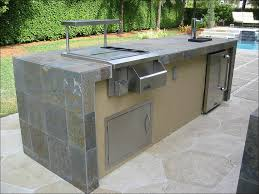 Prefab Outdoor Kitchen Island by Kitchen Bbq Island Built In Barbecue Grills Outdoor Kitchens And