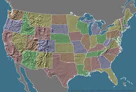 us relief map a wooden topographic map of the united states more details in