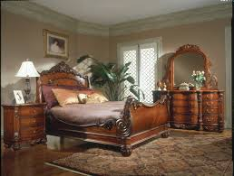Sleigh Bed Bedroom Set King Charles Bedroom Furniture Set Collection With Sleigh Bed With