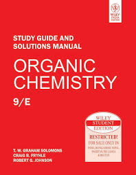buy organic chemistry study guide and solutions manual book