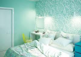 Seafoam Green Wallpaper by Two Cheerful Apartments With Creative Storage And Splashes Of Color