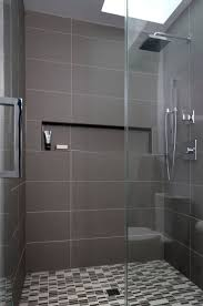 Best 25 Black Bathroom Floor by Best 25 Gray Shower Tile Ideas On Pinterest Grey Tile Shower