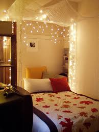 hanging bedroom lights 45 ideas to hang christmas lights in a bedroom shelterness