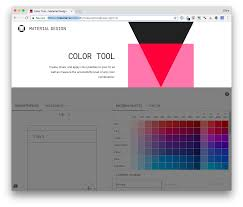 the material design color tool exports to codepen codepen blog