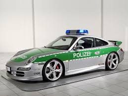 police porsche 2005 porsche carrera 997 police cruiser by techart review