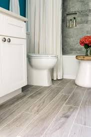 flooring for bathrooms vinyl flooring provides the look without