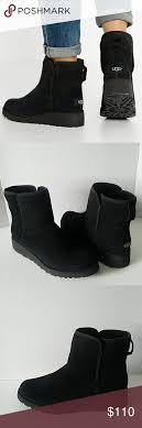 ugg womens frances boots black ugg kristin black suede wedge boots booties black suede wedge