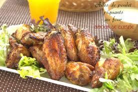 comment cuisiner des ailes de poulet ailes de poulet piquantes au four amour de cuisine