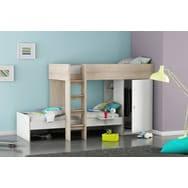 lit et bureau enfant lits combinés bureau enfant pas cher à prix auchan
