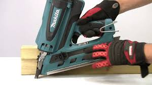 Battery Roofing Nailer by Makita Gas Nailers Youtube