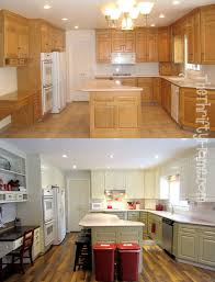 kitchen remodel painting cabinets with alabaster white and martha