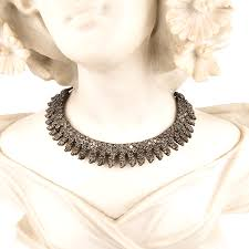 indian metal necklace images Oxidised indian tribal ethnic choker necklace gif