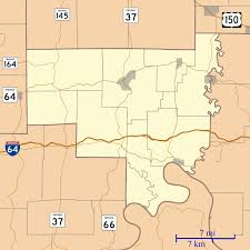 Zip Code Map Indiana by Wickliffe Indiana Wikipedia