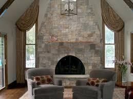 natural stone fireplaces hgtv