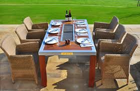 sit around grill table spring into bbq season with a grilling table ibbq