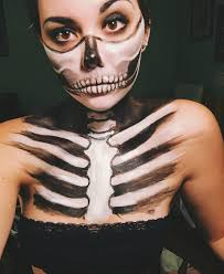 skeleton face paint skeleton face paint skeleton face and skeletons