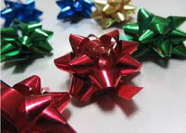 gift wrap bows 2 5 diameter gift wrap and bows multi metallic pom pom bow for