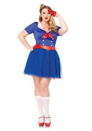 ahoy there honey women u0027s plus size sailor costume