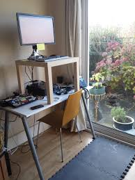 Ikea Desk Stand Stand Up Desks Ikea Home Design