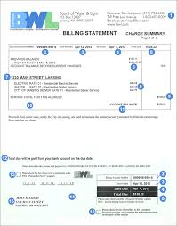 Lansing Board Of Water And Light How To Read Your Bill