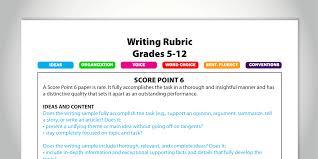 six principles of idea convert rubric scores to grades