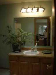 bathroom simple energy efficient bathroom lighting design ideas