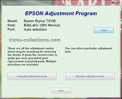 Tx100 Resetter Free Download | printer resetter epson tx100 and epson tx105 tricks collections com