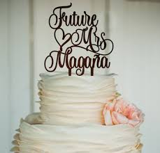 mrs mrs cake topper future mrs cake topper soon to be mrs from miss to mrs cake