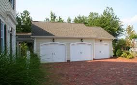 detached garage with breezeway detached 3 car garage with