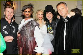 matthew bellamy u0026 gerard butler celebrate halloween at u0027treats