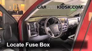 2003 Chevy Silverado Interior Interior Fuse Box Location 2014 2016 Chevrolet Silverado 1500