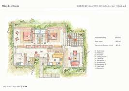 eco floor plans nicaragua estate development balcones majagual eco houses