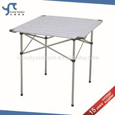metal folding table outdoor roll up top cing aluminum small metal folding table buy small
