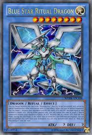 blue star ritual dragon by neophoenixknight on deviantart