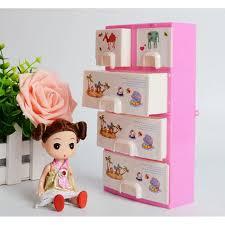 Princess Bedroom Furniture Online Shop Doll Furniture Closet Wardrobe Storage Pink Cabinet