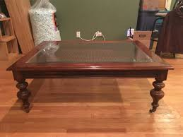 ethan allen glass coffee table coffee table coffee table ethan allen dark antiqued pine oldorld