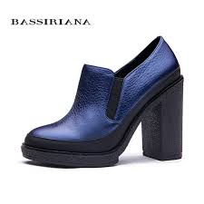 Cobalt Blue High Heels Aliexpress Com Buy Bassiriana Women U0027s Pumps New 2017 Women U0027s