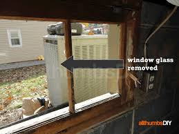 replacing leaky rotted basement windows u2013 part 2 of 3