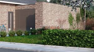 House With Garage Brick House With Garage And Garden In Holland U2013 Viscato