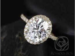 yellow gold oval engagement rings rosados box chantelle 10x8mm yellow gold oval f1 moissanite and