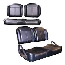 e z go new e z go luxury golf cart seats the style and comfort