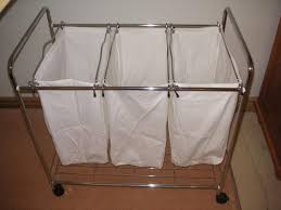 Laundry Hamper Replacement Bags by Triple Laundry Sorter With Ironing Board U2014 All Home Decoration