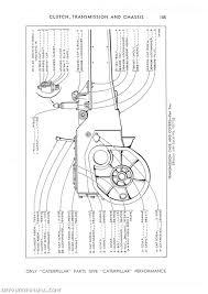 caterpillar d6 crawler 74 inch 9u1 to 13262 parts manual