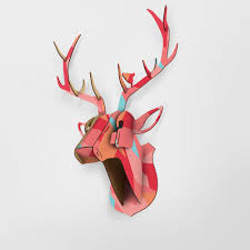 aliexpress com buy limite animal christmas reindeer head wooden