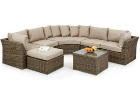 Cube Sofa Bed by Maze Rattan Winchester Round Corner Sofa Set Mode Living