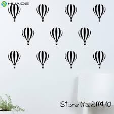 online get cheap hot air balloon baby nursery aliexpress com 18pcs set hot air balloon wall pattern decal sticker custom color wall stickers for kids