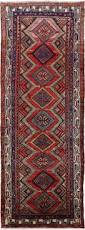 10 Runner Rug New Persian Hamadan Hand Knotted 4 X 10 Runner Rug Golden Nile