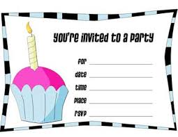 make your own birthday invitations make your own birthday