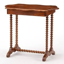 antique spindle leg side table mid 19th century spindle leg side table ebth
