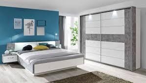 Schlafzimmer Komplett Schwebet Enschrank Schlafzimmer Komplett 3 Teilig Mit Beleuchtung 180x200cm